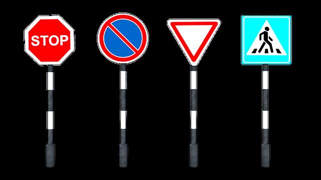 תמרורים - התיישנות עבירות תנועה
